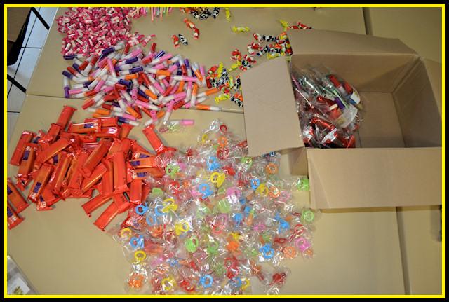 Amicale La Fontaine - Bonbons de Noël 2012